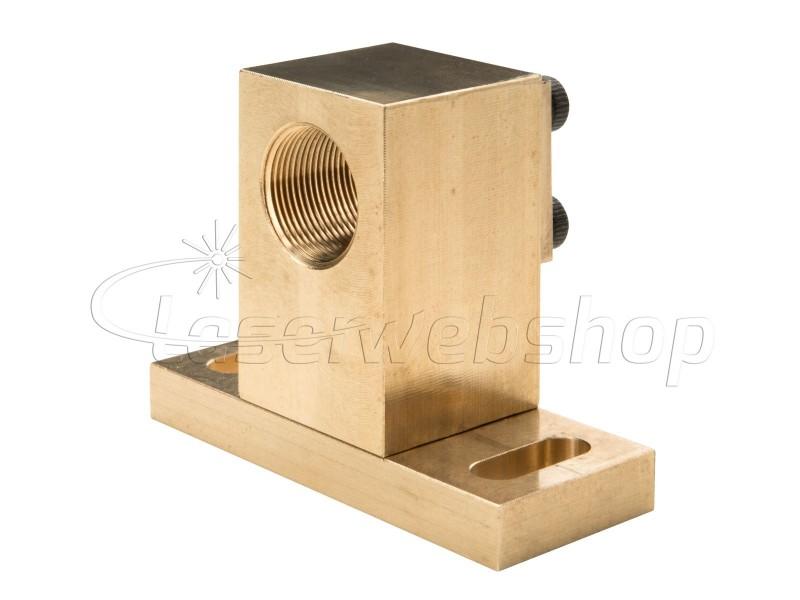 Laser Diode Mount LD size 9 mm   Copper Brass housing DIY