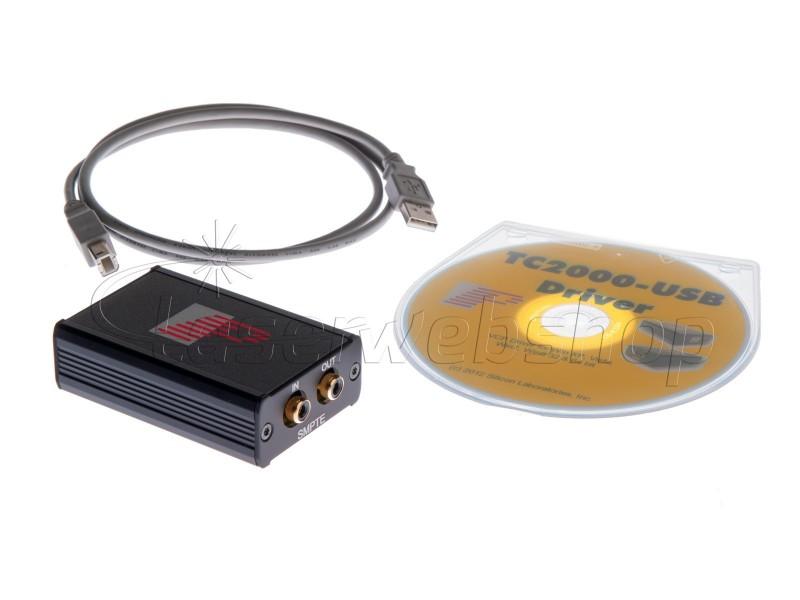 TC2000 SMPTE USB - Laserwebshop